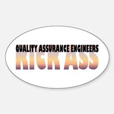 Quality Assurance Engineers Kick Ass Decal