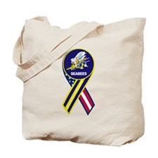 seabees_navy_patch.png Tote Bag