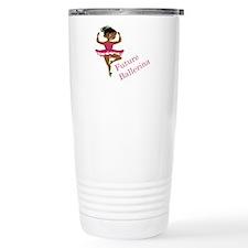 African American Baller Travel Mug