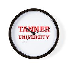 TANNER UNIVERSITY Wall Clock