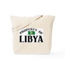 Property Of Libya Tote Bag