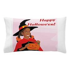 Happy Halloween (Black) Pillow Case