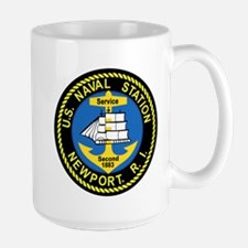 NEWPORT US Naval Station Rhode Island Militar Mugs