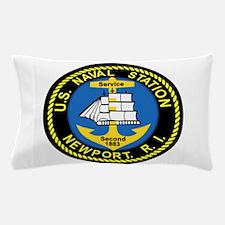 NEWPORT US Naval Station Rhode Island Pillow Case