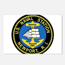NEWPORT US Naval Station Postcards (Package of 8)