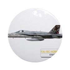 STAFFEL_11_TIGER_F18.png Ornament (Round)