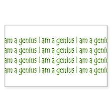 I Am A Genius Decal