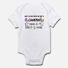 Camden had a Farm Infant Bodysuit