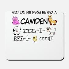 Camden had a Farm Mousepad