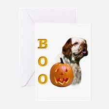 Clumber Boo Greeting Cards (Pk of 10)