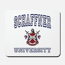 SCHAFFNER University Mousepad