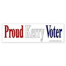 Proud Kerry Voter Bumper Bumper Sticker