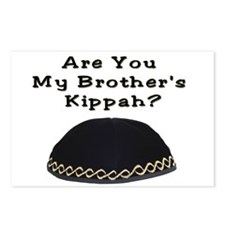 Are You My Brother's Kippah Postcards (Package of