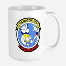 ZRS-5 USS MACON US NAVY Airship for scouting Mugs