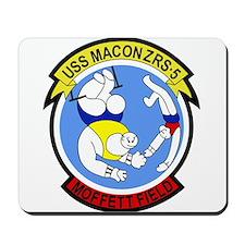 ZRS-5 USS MACON US NAVY Airship for scou Mousepad