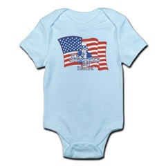 It's Independence Day Bitches! Infant Bodysuit