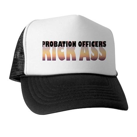 Probation Officers Kick Ass Trucker Hat