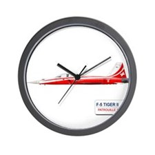 Funny Suisse Wall Clock