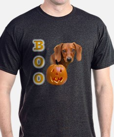 Smooth Dachshund Boo T-Shirt
