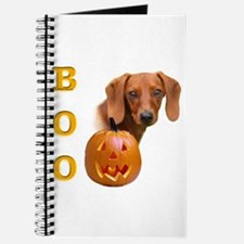 Smooth Dachshund Boo Journal