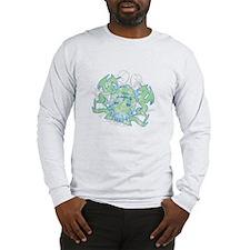 Libra Zodiac Designer Long Sleeve T-Shirt