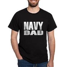 Navy Dad Caps T-Shirt