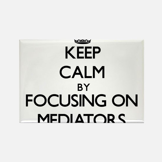 Keep Calm by focusing on Mediators Magnets
