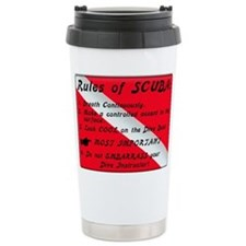 Unique Scuba diving Travel Mug