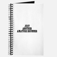 just another amature drummer Journal