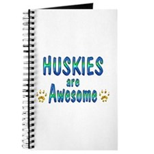 Huskies are Awesome Journal