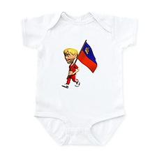 3D Liechtenstein Infant Bodysuit