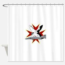 Cool Phantom Shower Curtain