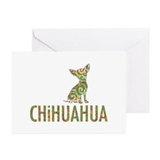 Camo Chihuahua - Greeting Cards (Pk of 10)