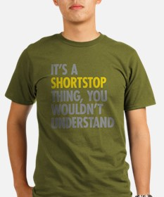 Its A Shortstop Thing Organic Men's T-Shirt (dark)