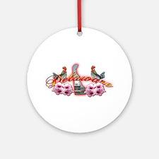 Delaware Ornament (Round)
