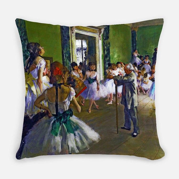 Degas - The Ballet Class Master Pillow