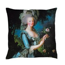 Marie Antoinette with Rose Master Pillow