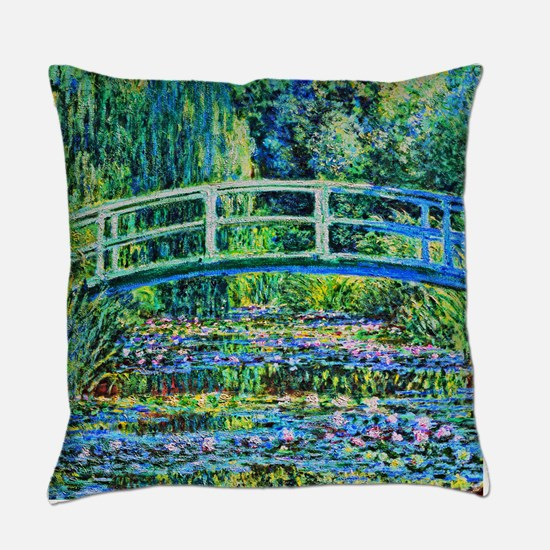 Monet - Water Lily Pond Master Pillow