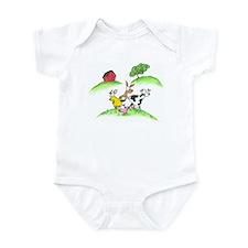 farm animals Infant Bodysuit