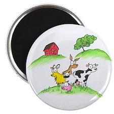farm animals Magnet