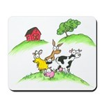 farm animals Mousepad