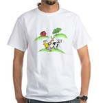 farm animals White T-Shirt