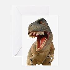 Tyrannosaurus Rex Greeting Cards