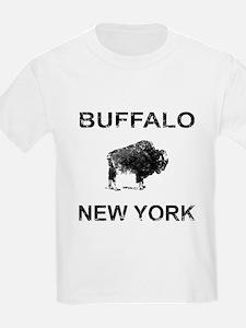Dark Vintage Buffalo T-Shirt