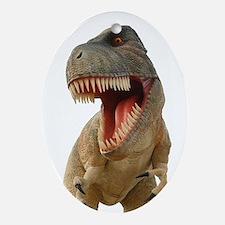 Tyrannosaurus Rex Ornament (Oval)