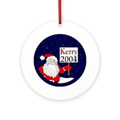Santa for Kerry 2004 Christmas ornament