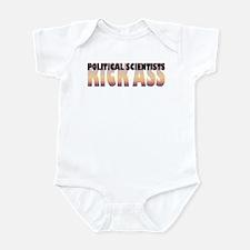 Political Scientists Kick Ass Infant Bodysuit