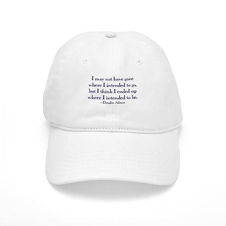 Douglas Adams Quote Cap