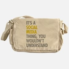 Its A Social Media Thing Messenger Bag
