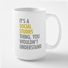 Social Studies Thing Mug
